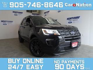 Used 2019 Ford Explorer XLT APPEARANCE PKG | 4X4 | NAV | LEATHER | SUNROOF for sale in Brantford, ON