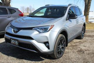 Used 2018 Toyota RAV4 SE AWD for sale in New Hamburg, ON