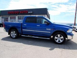 Used 2016 RAM 1500 SLT Crew Cab 4WD Diesel Camera Bluetooth Certified for sale in Milton, ON