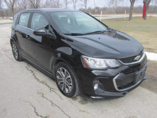 Used 2017 Chevrolet Sonic LT 5-Door #Touch Screen #Heated Seats #Bluetooth for sale in Brandon, MB