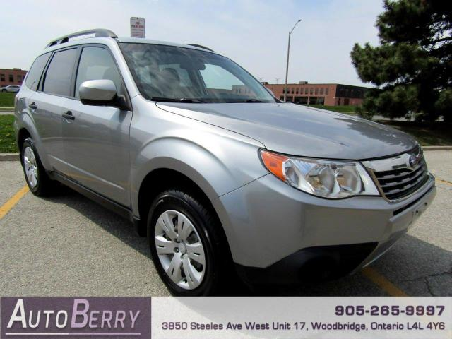 2010 Subaru Forester 2.5XS One Owner Low KM!