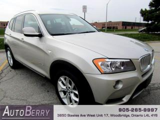Used 2013 BMW X3 xDrive28i for sale in Woodbridge, ON