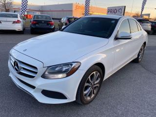 Used 2017 Mercedes-Benz C-Class C300 4MATIC Sedan for sale in Ottawa, ON