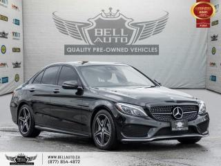 Used 2016 Mercedes-Benz C-Class C 450 AMG, AWD, NAVI, REAR CAM, B.SPOT, PANO ROOF for sale in Toronto, ON