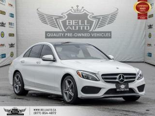 Used 2018 Mercedes-Benz C-Class C 300, AMG, AWD, NAVI, B.SPOT, PANO, NO ACCIDENT for sale in Toronto, ON