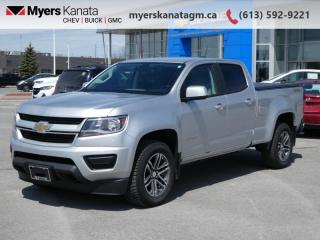 Used 2020 Chevrolet Colorado 4WD Work Truck  - Android Auto for sale in Kanata, ON