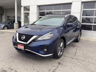 Used 2020 Nissan Murano AWD PLATINUM for sale in North Bay, ON