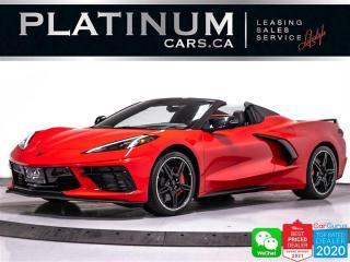 Used 2021 Chevrolet Corvette Stingray CONVERTIBLE Z51 PKG, 3LT, 495HP, CAM, NAV for sale in Toronto, ON
