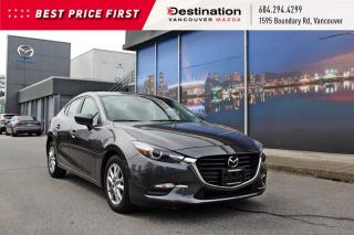 Used 2018 Mazda MAZDA3 GS - Finance rates from 0.99%! Wow for sale in Vancouver, BC