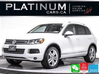 Used 2012 Volkswagen Touareg TDI Execline, DIESEL V6, AWD, HEATD, PANO, NAV for sale in Toronto, ON