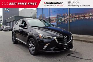 Used 2018 Mazda CX-3 GT - Fully loaded with finance rates from 0.99%! for sale in Vancouver, BC