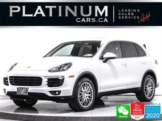 Used 2016 Porsche Cayenne S, 420HP, PREMIUM PLUS, HEATED/VENTED, CAM, NAV for sale in Toronto, ON