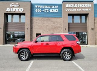 Used 2018 Toyota 4Runner TRD OFF-ROAD 4X4 for sale in St-Eustache, QC