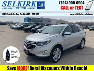 Used 2018 Chevrolet Equinox Premier  *PANO ROOF, HTD SEATS* for sale in Selkirk, MB