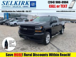 Used 2018 Chevrolet Silverado 1500 Rally 1 Edition  *GORGEOUS* for sale in Selkirk, MB
