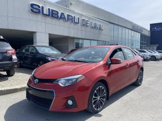 Used 2016 Toyota Corolla S *Toit ouvrant, sièges chauffants* for sale in Laval, QC