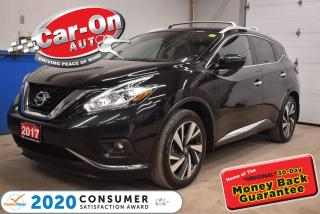 Used 2017 Nissan Murano Platinum for sale in Ottawa, ON