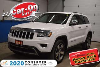 Used 2015 Jeep Grand Cherokee SUNROOF | NAVIGATION | PANORAMIC SUNROOF | TERRAIN for sale in Ottawa, ON