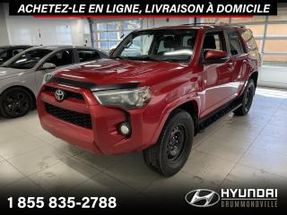 Used 2014 Toyota 4Runner SR5 4WD + TOIT + CUIR + CAMERA + WOW !! for sale in Drummondville, QC