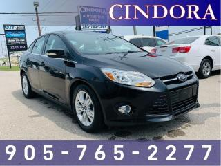 Used 2012 Ford Focus SEL, Heated Seats for sale in Caledonia, ON