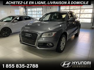 Used 2013 Audi Q5 PERMIUM + GARANTIE + TOIT PANO + WOW !! for sale in Drummondville, QC