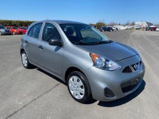 Used 2015 Nissan Micra S for sale in Pintendre, QC