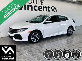 Used 2017 Honda Civic HATCHBACK LX ** GARANTIE 10 ANS ** Sportive et pratique! for sale in Shawinigan, QC