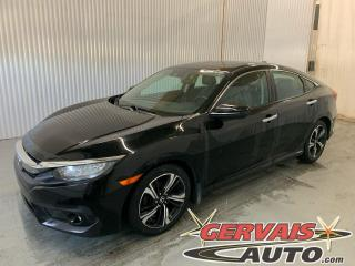 Used 2016 Honda Civic Touring Turbo GPS Cuir Toit Ouvrant Caméra Mags *Transmission Automatique* for sale in Trois-Rivières, QC