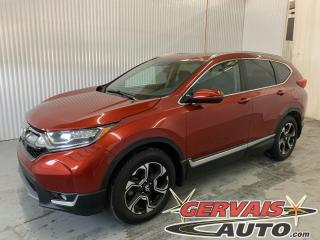 Used 2017 Honda CR-V Touring AWD GPS Cuir Toit Panoramique Mags *Traction intégrale* for sale in Trois-Rivières, QC