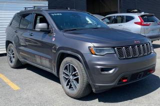 Used 2017 Jeep Grand Cherokee TRAILHAWK AWD CUIR TOIT GPS for sale in St-Hubert, QC