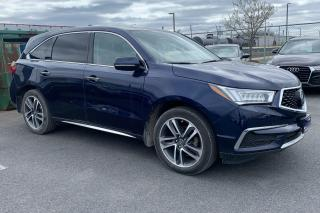 Used 2017 Acura MDX NAV PACKAGE AWD CUIR TOIT MAGS for sale in St-Hubert, QC