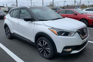 Used 2018 Nissan Kicks SR A/C cuir MAGS CAMÉRA DE RECUL for sale in St-Hubert, QC