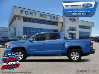 Used 2018 GMC Canyon 4WD SLE  - Bluetooth -  OnStar - $275 B/W for sale in Fort St John, BC