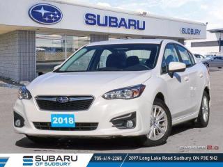 Used 2018 Subaru Impreza Touring - Symmetrical AWD - CLEAN CARFAX ! for sale in Sudbury, ON