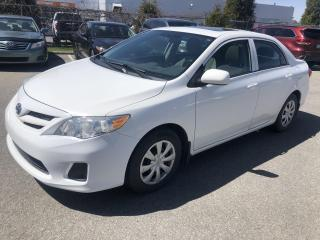 Used 2013 Toyota Corolla **AUTO/AIR/VITRES/TOIT OUVRANT** for sale in St-Eustache, QC