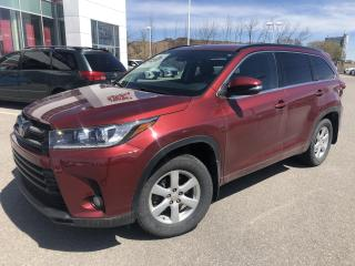 Used 2017 Toyota Highlander SE AWD ** RARE ** GPS/CUIR/TOIT/7PASS ** for sale in St-Eustache, QC