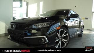 Used 2020 Honda Civic TOURING + TURBO + HONDA SENSING + GPS ! for sale in Trois-Rivières, QC