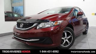 Used 2013 Honda Civic LX + A/C + LECTEUR CD + CRUISE ! for sale in Trois-Rivières, QC