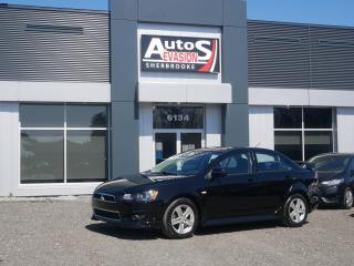 Used 2014 Mitsubishi Lancer LIMITED + TOIT + BAS KILO + INSPECTÉ for sale in Sherbrooke, QC