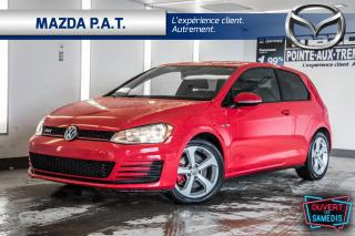 Used 2017 Volkswagen Golf GTI GTI MANUELLE,CAMÉRA DE RECUL,BLUETOOTH, for sale in Montréal, QC