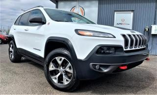 Used 2016 Jeep Cherokee ***TRAILHAWK,4X4,CUIR,TOIT PANO,V6,MAGS* for sale in Longueuil, QC
