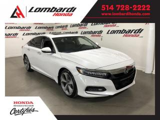 Used 2018 Honda Accord TOURING NAV CUIR TOIT  for sale in Montréal, QC
