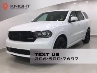 Used 2017 Dodge Durango R/T Blacktop AWD | Leather | Sunroof | Navigation | DVD | for sale in Regina, SK