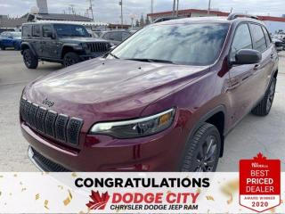 New 2021 Jeep Cherokee 80th Anniversary-4WD,Nav,Leather,Remote Start,WiFi for sale in Saskatoon, SK