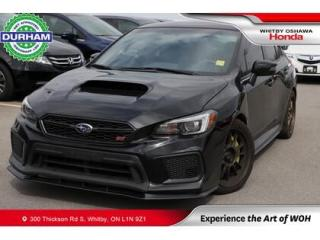 Used 2018 Subaru WRX STI Limited Manual w-Wing Spoiler for sale in Whitby, ON