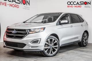 Used 2016 Ford Edge Sport AWD MAGS.21''+TOIT.PANO+SIEGES.CHAUFFANTS for sale in Boisbriand, QC
