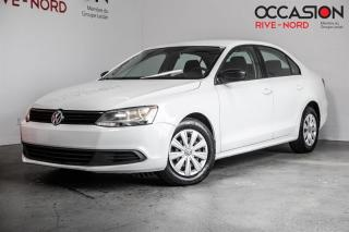 Used 2013 Volkswagen Jetta Trendline+ SIEGES.CHAUFFANTS+A/C+GR.ELECTRIQUE for sale in Boisbriand, QC