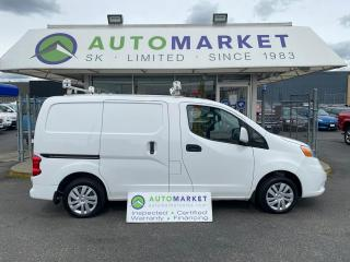 Used 2018 Nissan NV200 S CARGO DELUXE SHELVING! LADDER RACK! FREE BCAA & WRNTY for sale in Langley, BC
