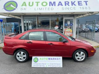 Used 2005 Ford Focus ZX4 SEDAN AUTO IN HOUSE FINANCE! NO CREDIT REQ. FREE BCAA & WRNTY! for sale in Langley, BC