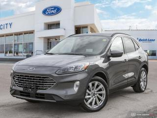 New 2021 Ford Escape Titanium Hybrid for sale in Winnipeg, MB